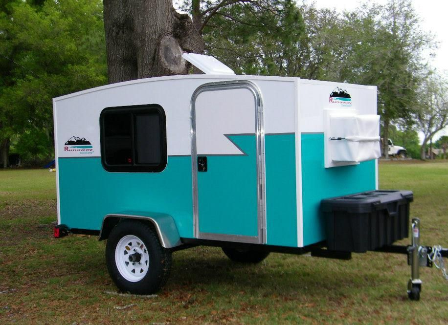 Featured Teardrop Runaway Campers With Images Runaway Camper