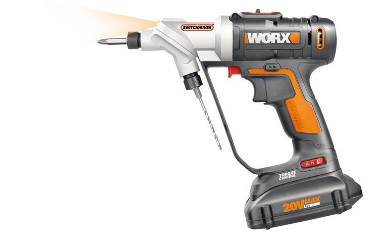 Worx Wx176l 2 In 1 Switch Drill Driver Cordless Drill Power Drill Drill
