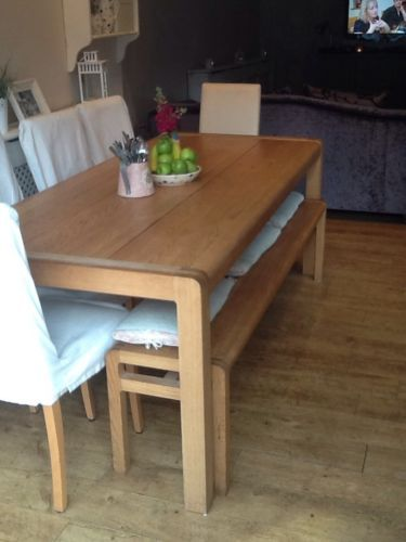 Habitat Radius Table With Bench Seats People In Home Furniture DIY Tables