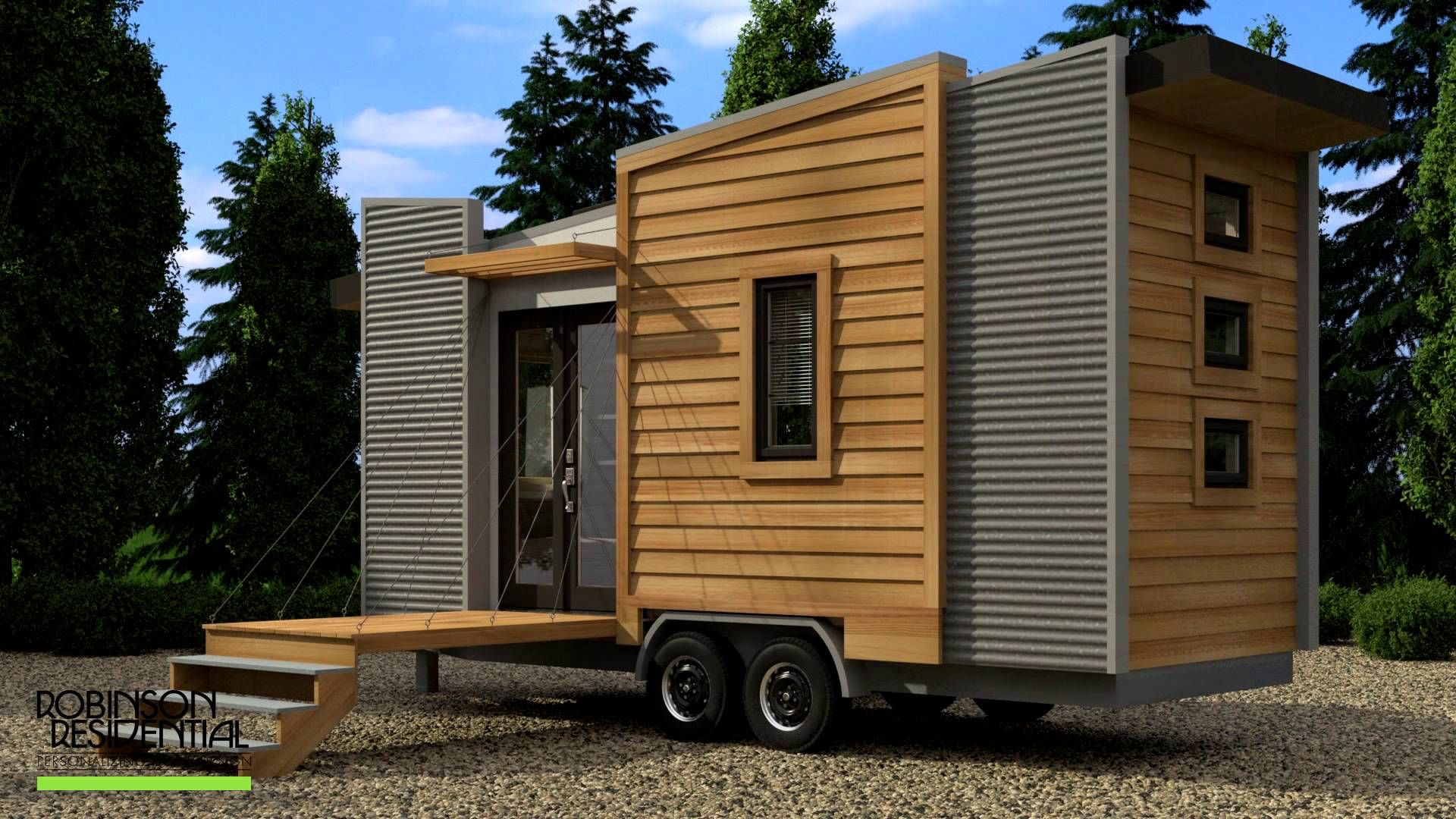 Robinson Dragon Fly Tiny House Design tiny houses Pinterest