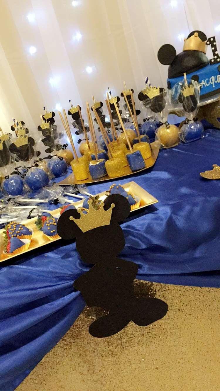 Royal Prince Mickey Baby Shower Ideas Pinterest Decoracion De