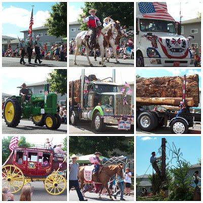 April's Homemaking: A Small Town Fourth of July Parade