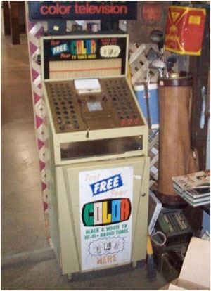 Old tv tube tester  I remember going to the hardware store