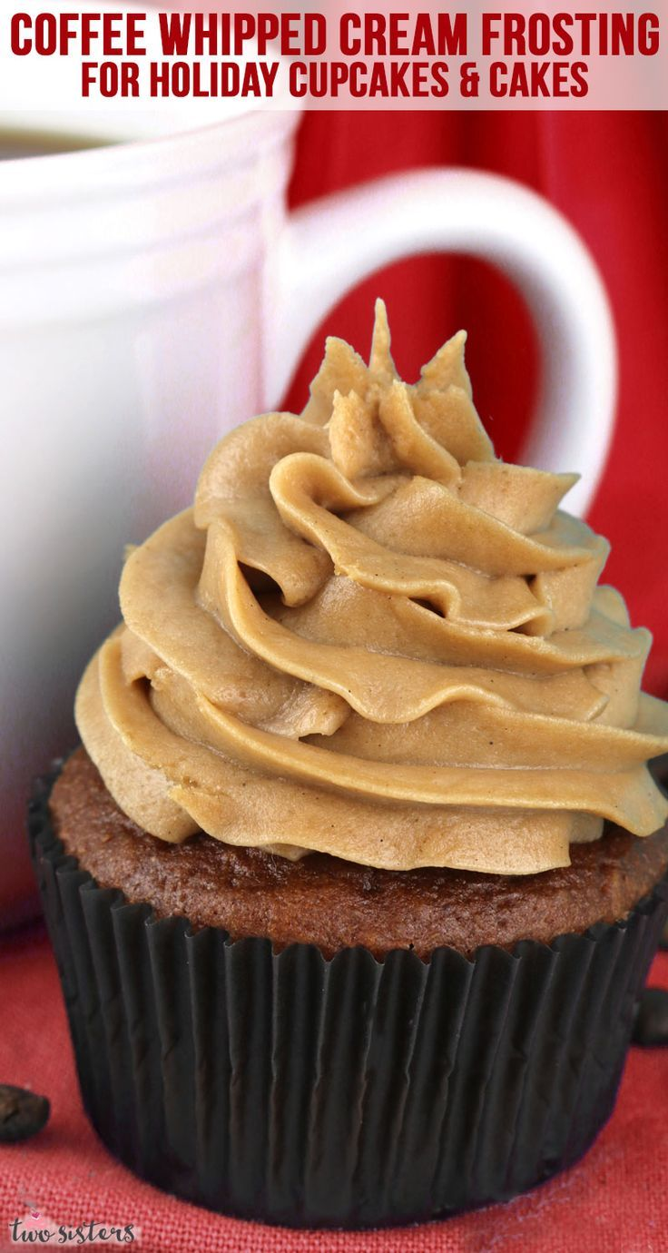 The Best Coffee Whipped Cream Frosting | Recipe | Whipped ...