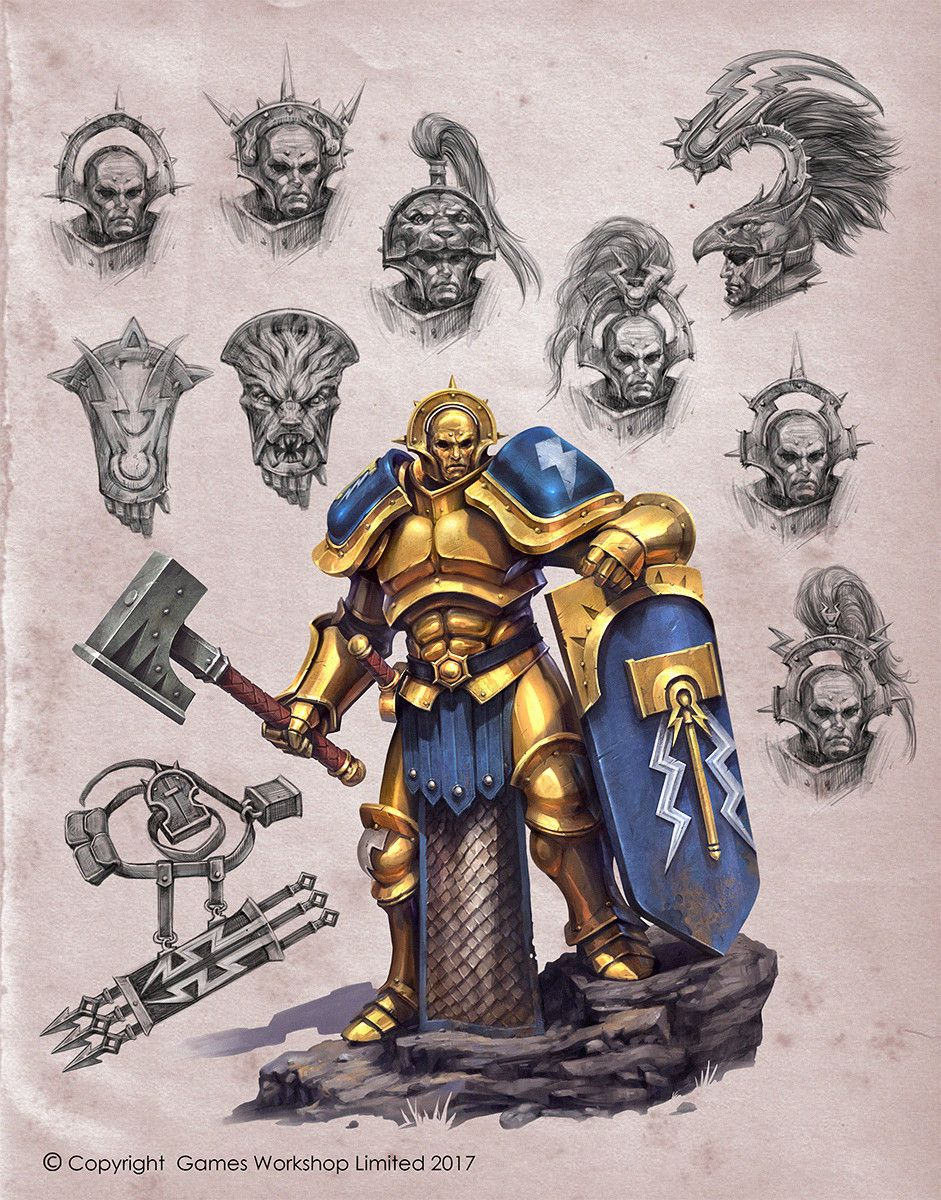 Armour Of A Stormcast Jaime Martinez On Artstation At Https Www