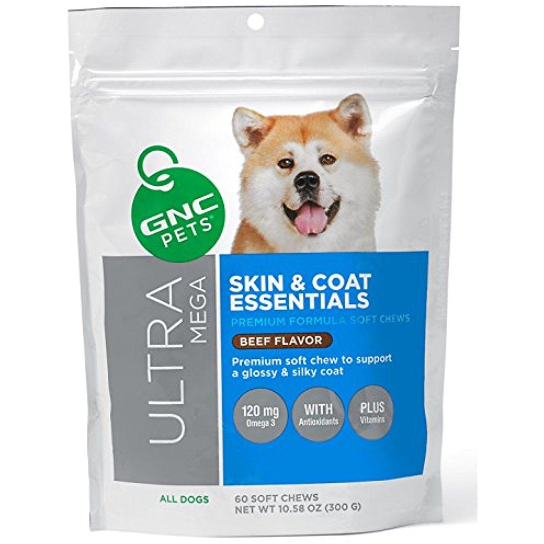 Gnc pets ultra mega skin coat essentials adult dogs beef