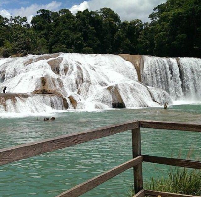 Cascadas de Agua Azul, Chiapas Mexico