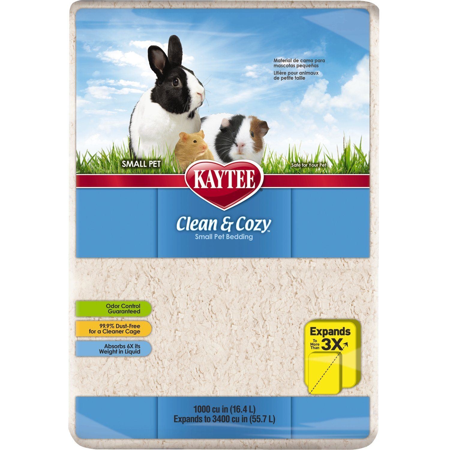 Kaytee Clean & Cozy Bedding, 1000 Cubic Inch