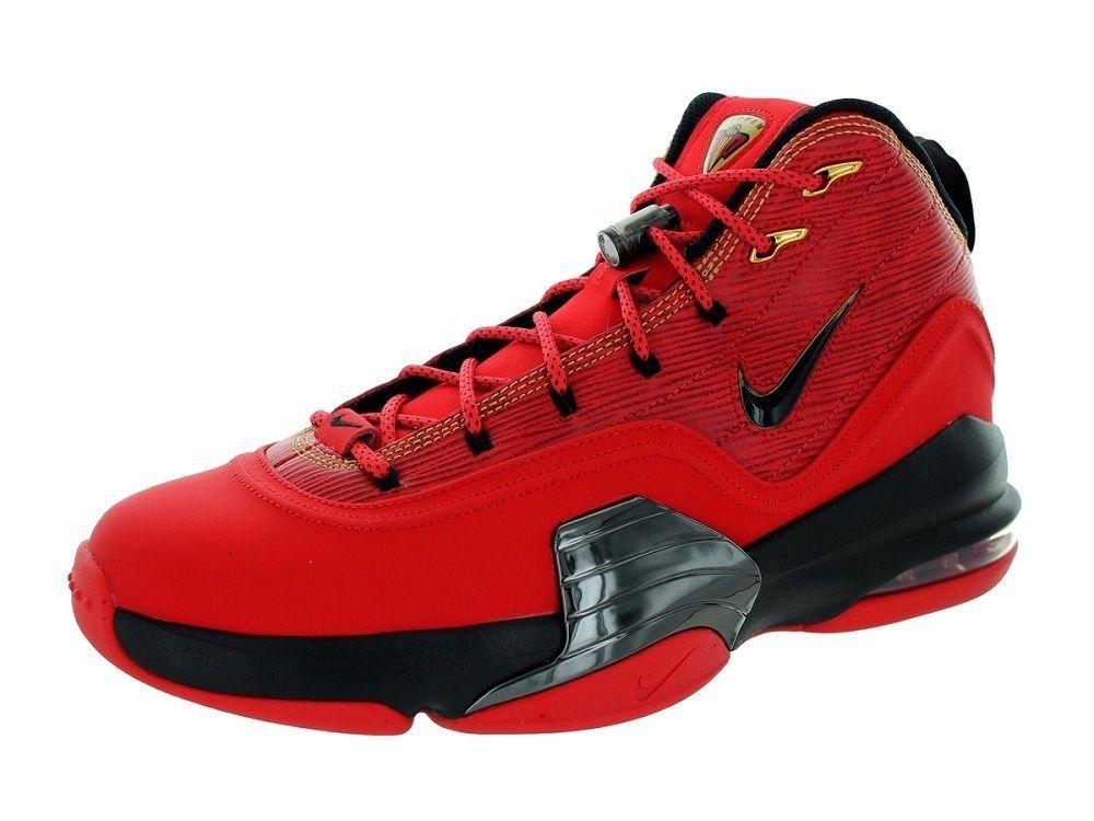 timeless design 77a87 4dc54 Nike Men s Pippen 6 Basketball Shoes 705065 610 University Red Gold Black   Nike  BasketballSnakers