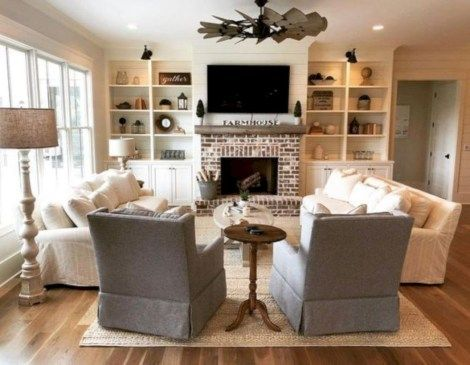 Photo of 48 Comfortable Family Room Design Ideas – petrolhat.com