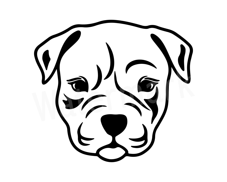 Doberman Pinscher Face Design Svg Eps Dxf Studio 3 Cut