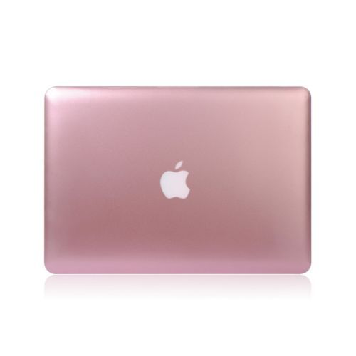official photos 3fd3d e75cf Rose Gold Rubberized Case Cover for MacBook Air 11/13