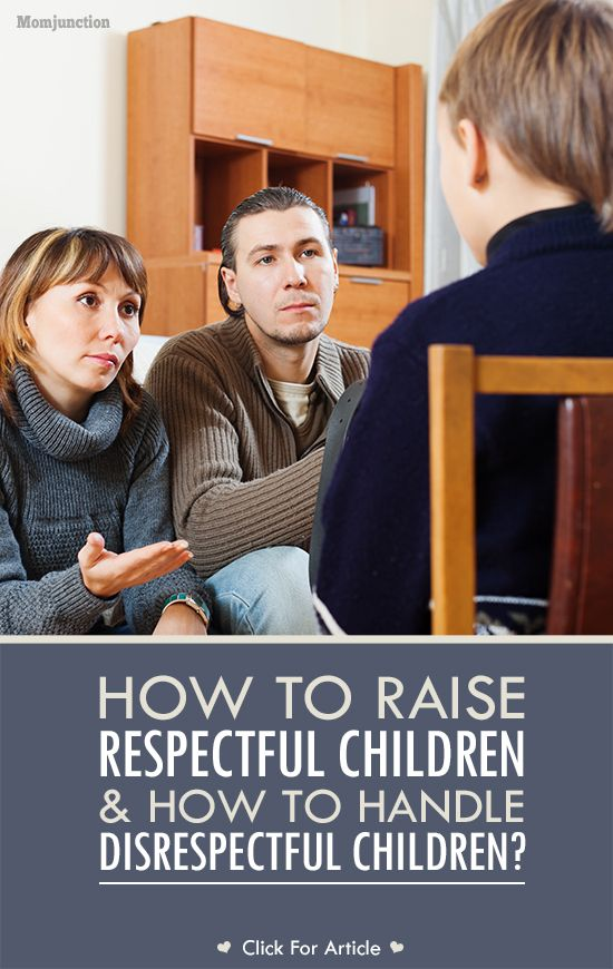 how to handle disrespectful children and teach respect