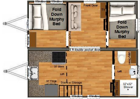 Tiny Homes For Sale And Listed For You To View Tiny House Floor Plans Tiny House Swoon Tiny Houses For Sale