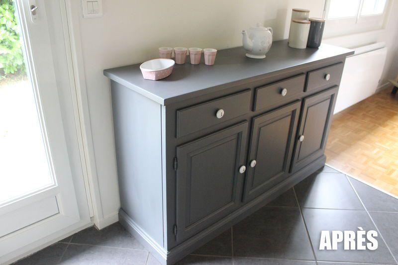 diy relooker un bahut en pin par stephanie bricole. Black Bedroom Furniture Sets. Home Design Ideas