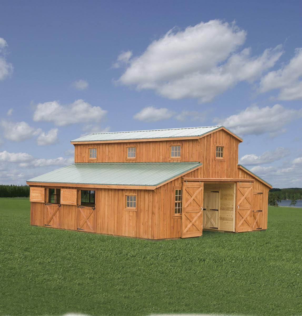 Horse Barns in 2020 Horse barns, Stoltzfus structures