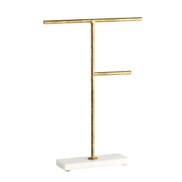 Photo of Gilt Jewelry Stand – Medium – Bracelet & Necklace Jewelry Stand – #Bracelet #g…