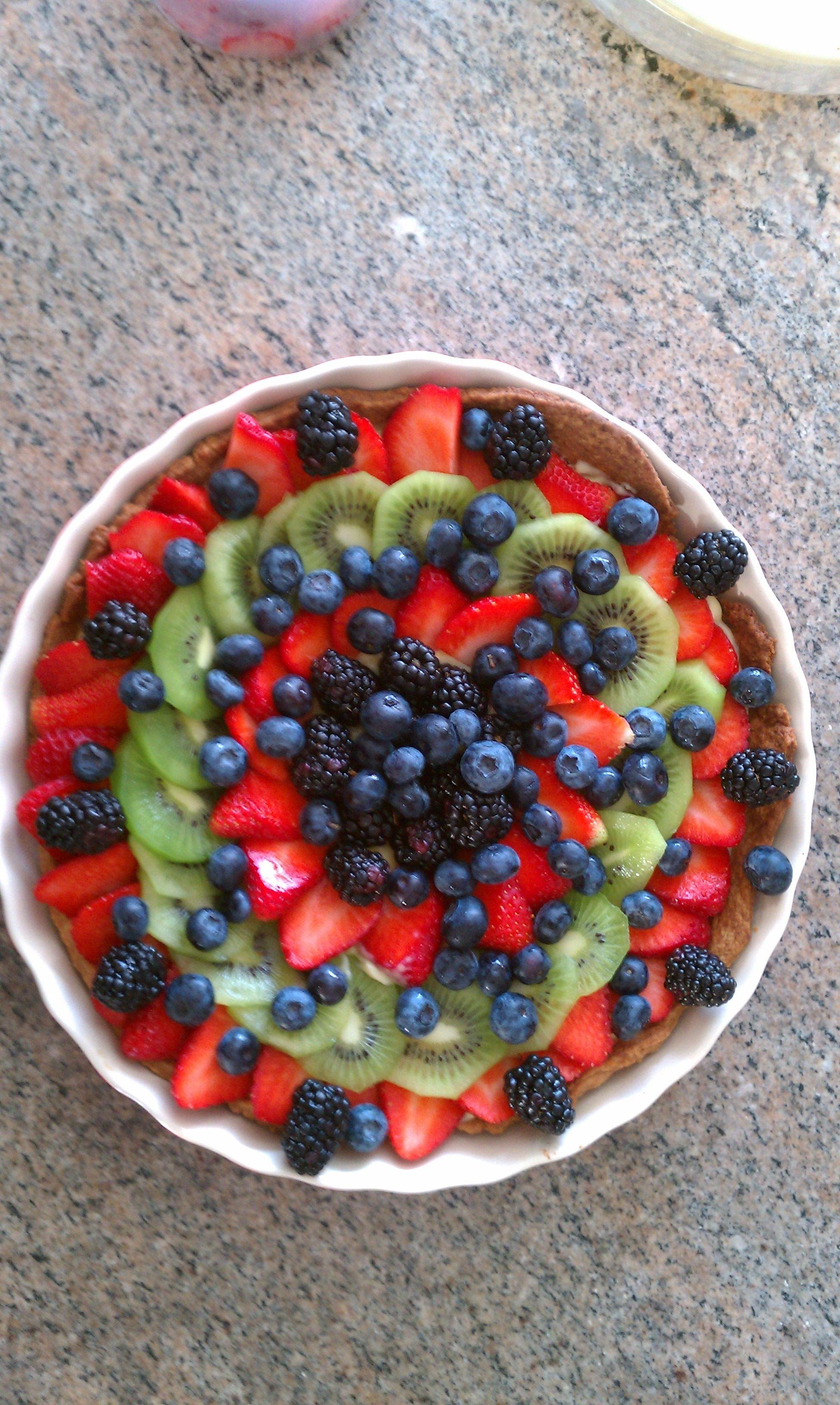 Homemade fruit tart ina garten recipe everyday food