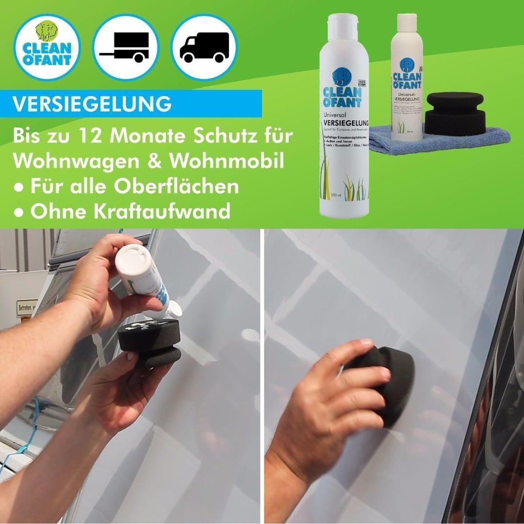 👉 Anwendung: VERSIEGELUNG Wohnwagen / Wohnmobil  Wohnwagen
