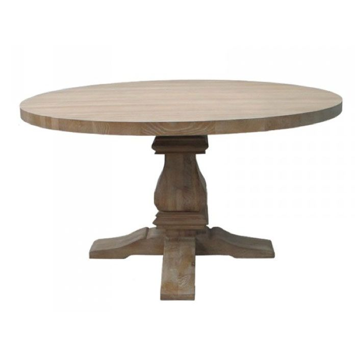Pierre Oak Pedestal Table Table Dining Table Interior Design