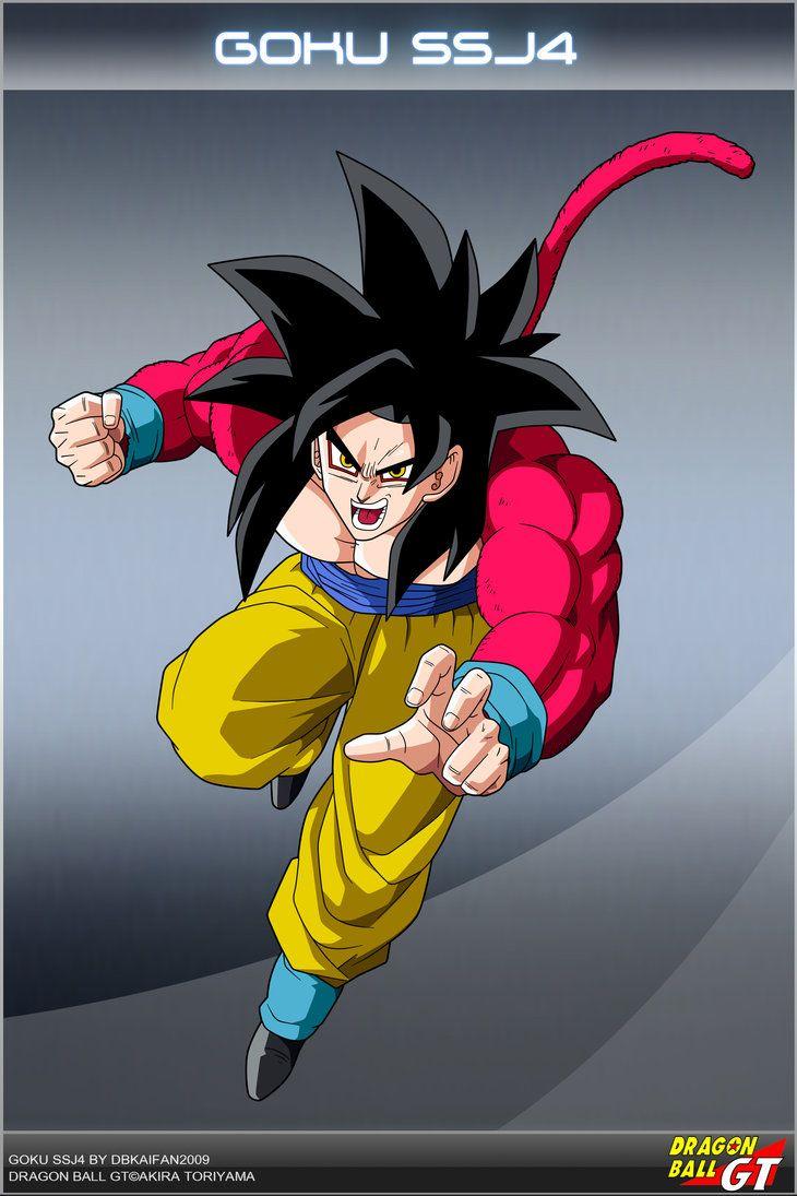 Dragon Ball Gt Goku Ssj4 By Dbcproject On Deviantart Deviantart
