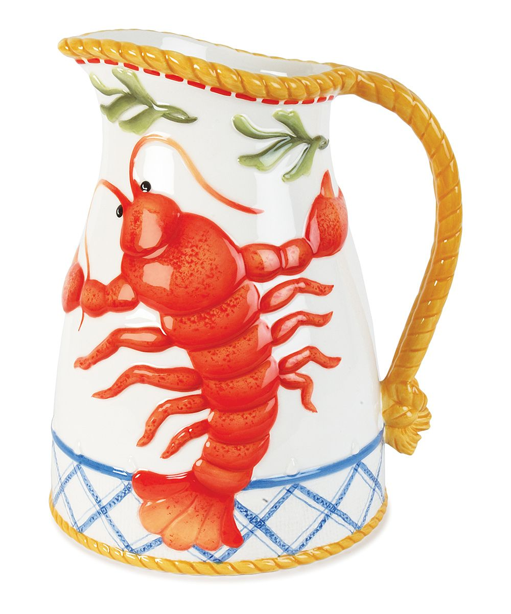 Clam Bake Pitcher