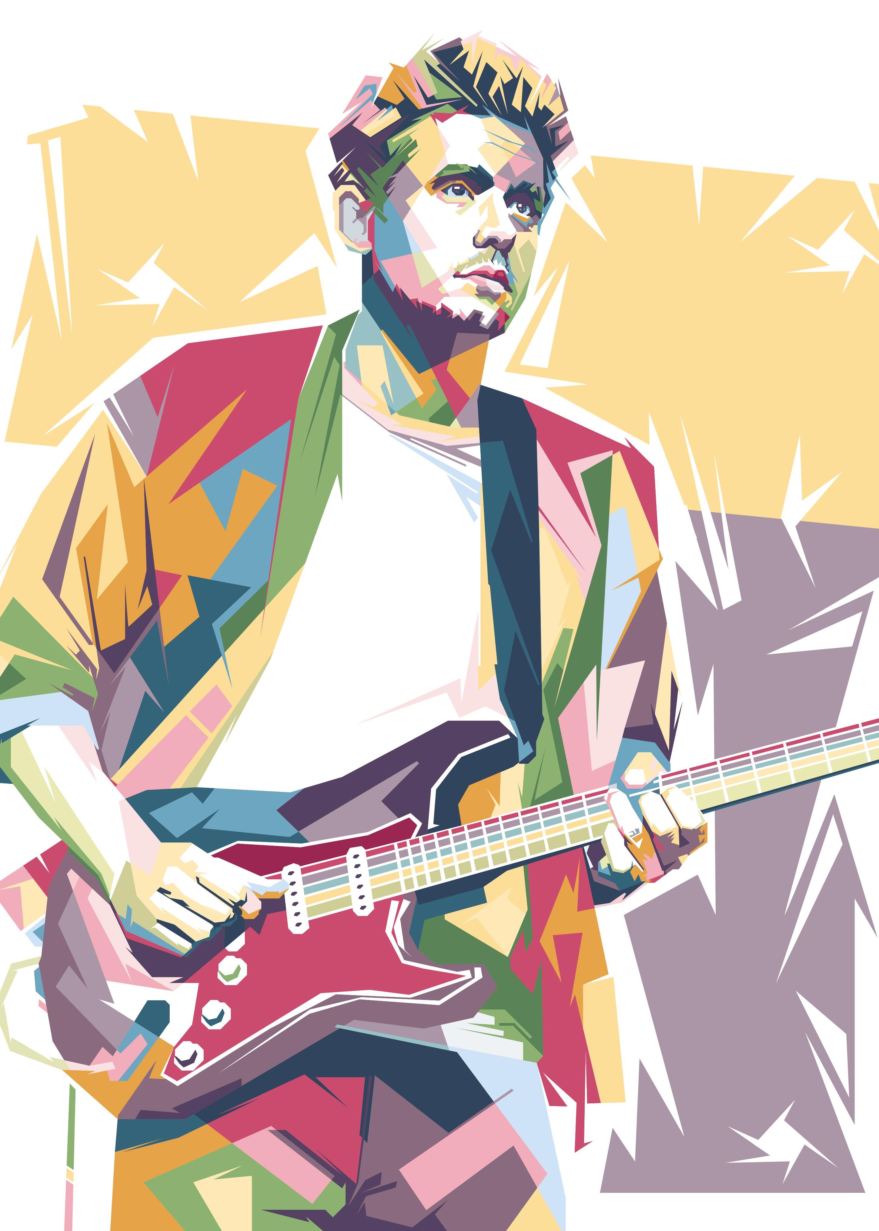 john mayer poster by johan musa