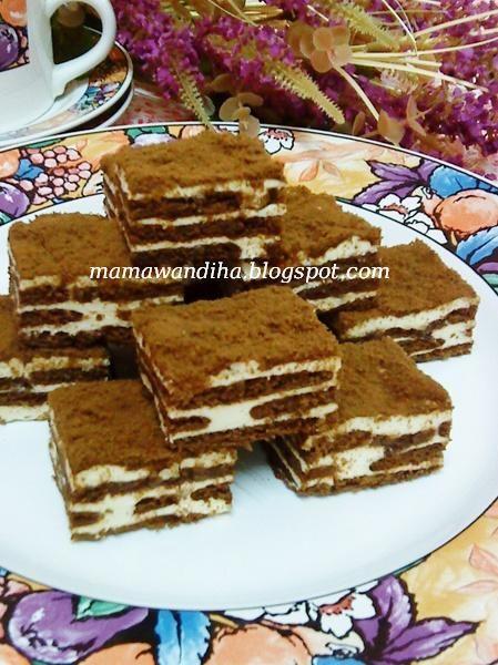 Dari Dapur Madihaa Kek Lapis Cheese Persona