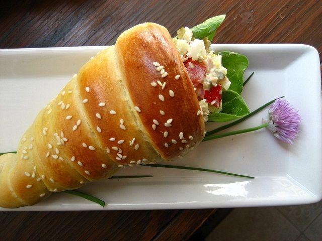 Bread Cones- #foods