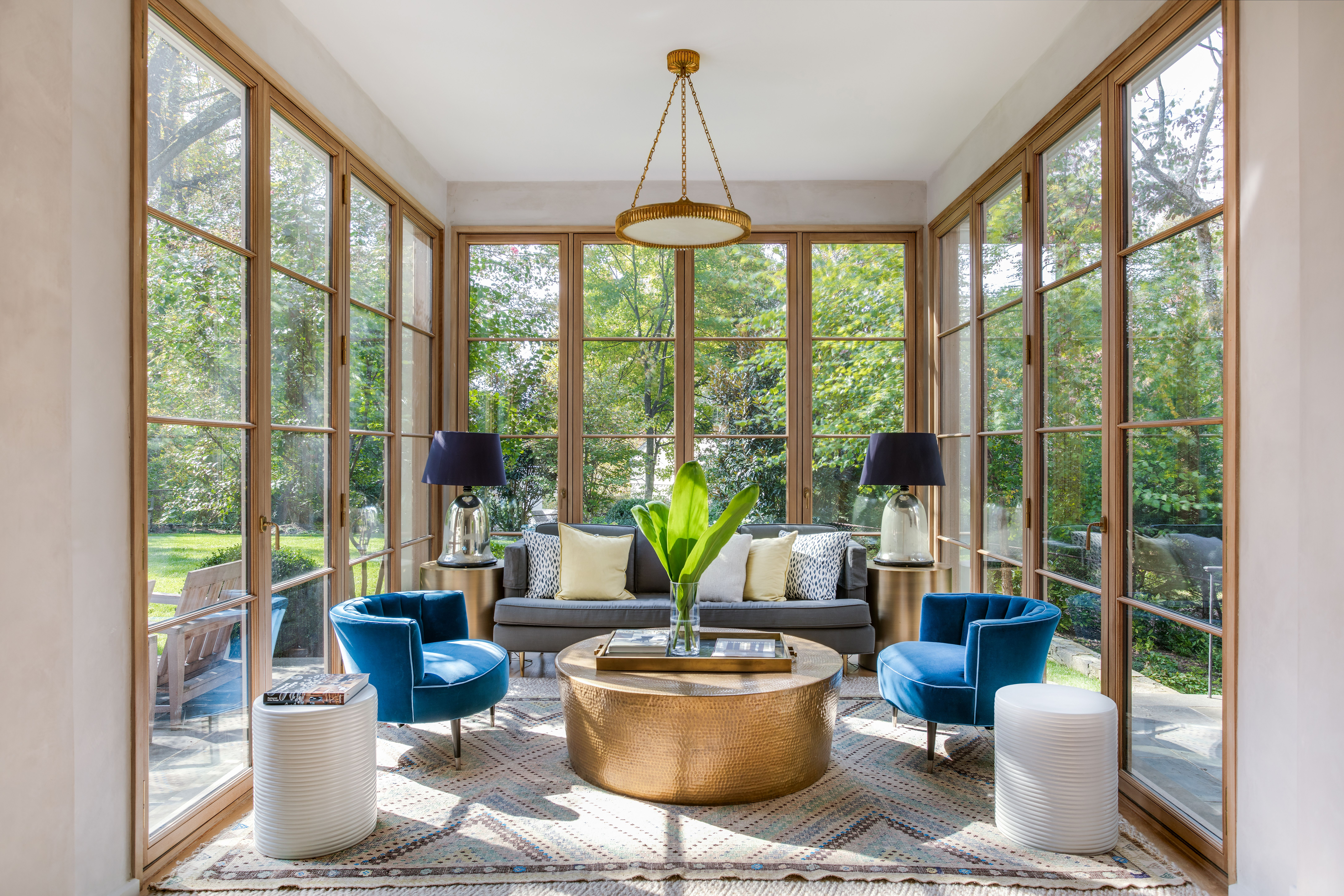 A Colonial home marries high-end design with laid-back style