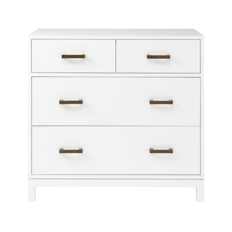 Kids Parke White 4 Drawer Chest Reviews Crate And Barrel