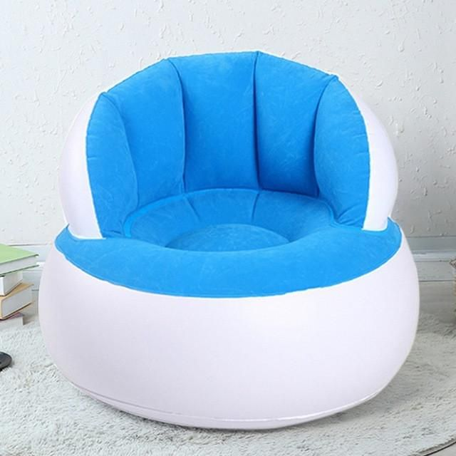 beanless sofa air chair throw cushions inflatable adult children lazy reading relaxing bean bag for living room