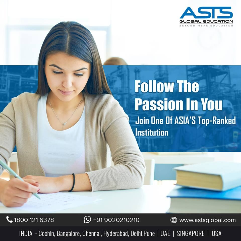 Follow the passion in you with ASTS Global Education Inc