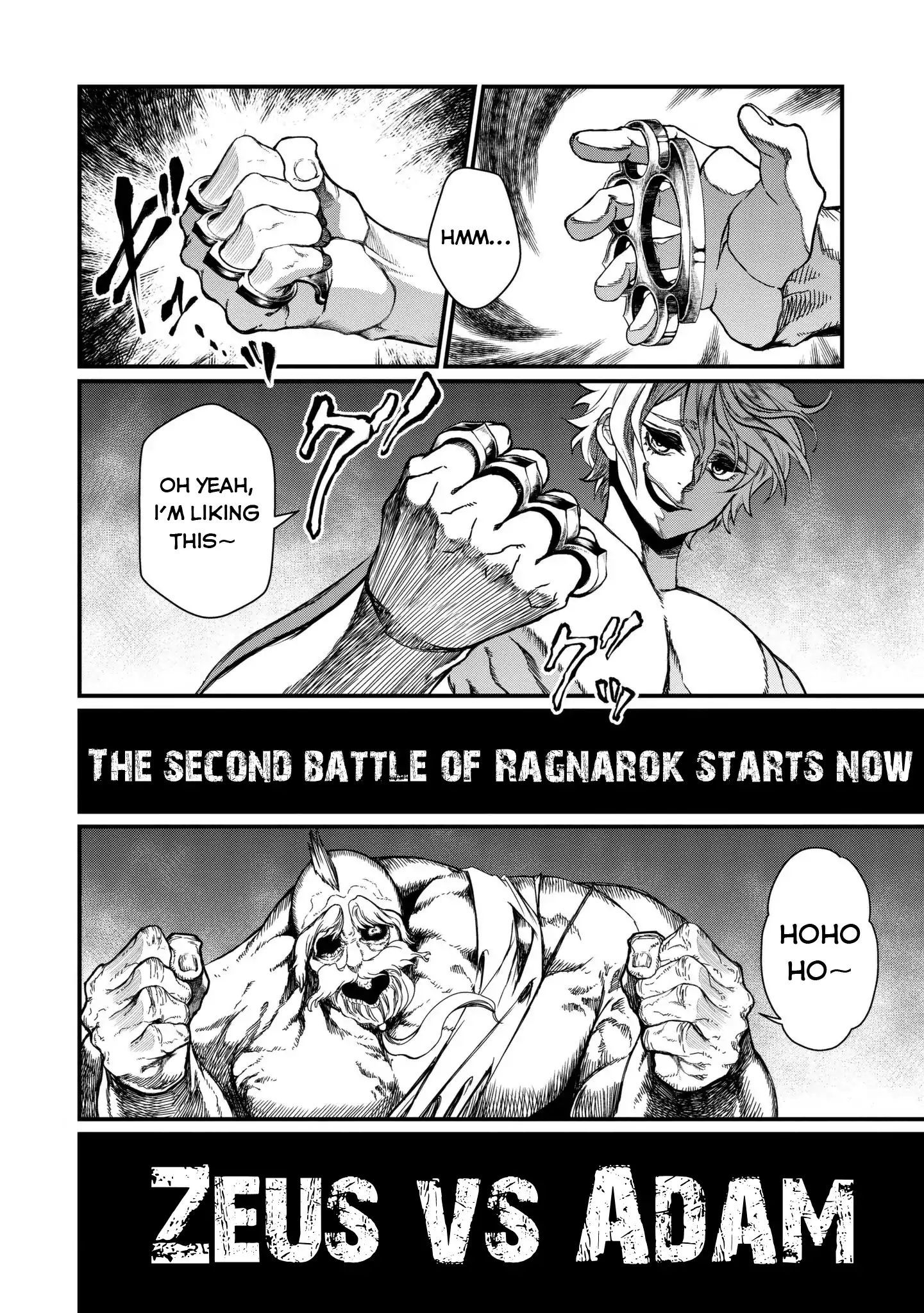 Record Of Ragnarok Vol 2 Chapter 8 Beyond The Realm Of