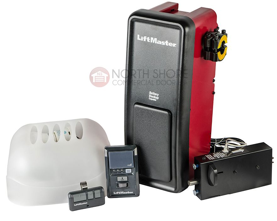 Buy The Liftmaster 8500 Wall Mount Garage Door Opener At North Shore  Commercial Door, Starting