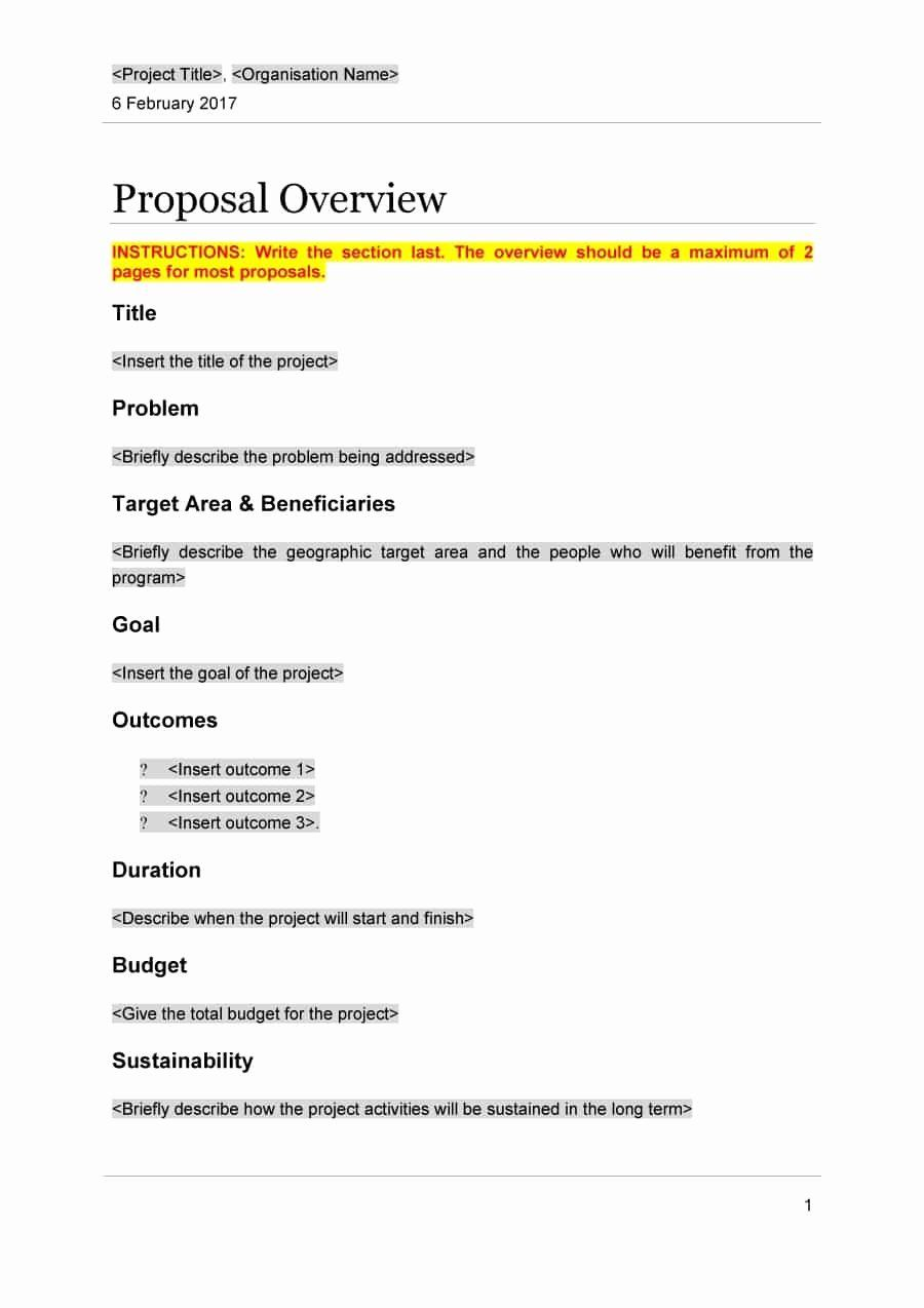 Project Proposal Template Free In 2020 Proposal Templates