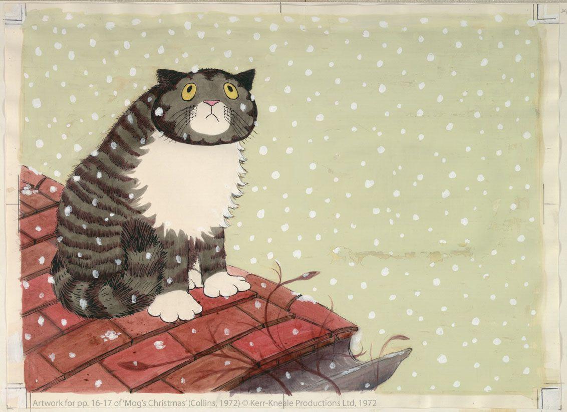 Judith Kerr Mog The Cat Mog The Cat Cats Illustration