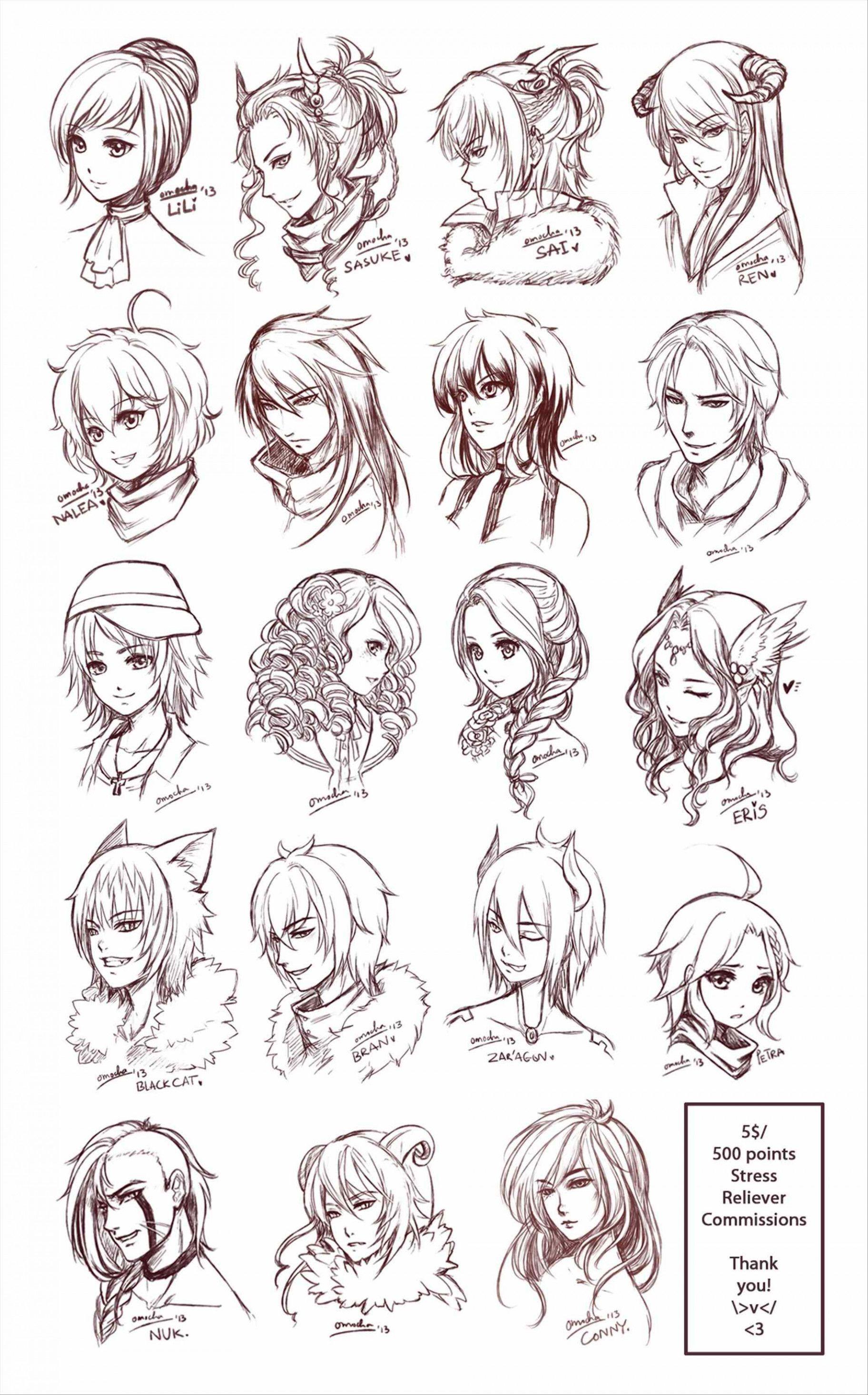How To Draw Realistic Curly Hair Male Tegneideer Illustrasjon Maleri