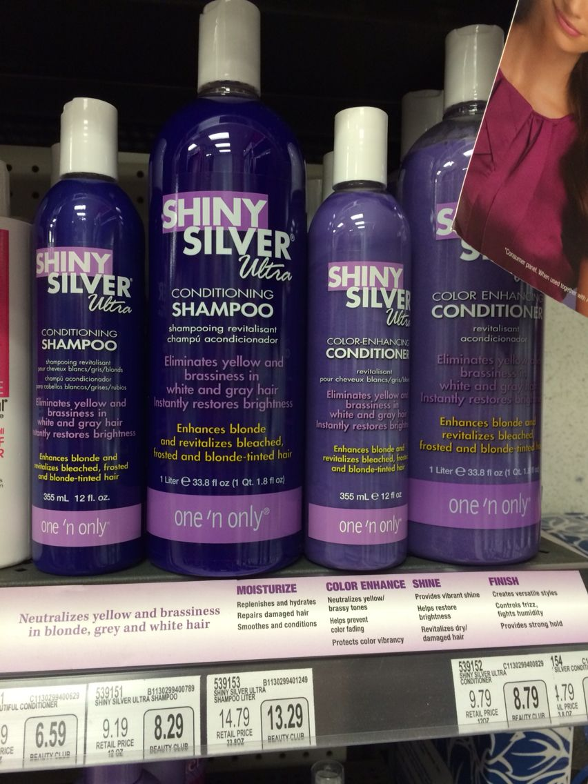 Sally Products Purple Shampoo Conditioner Introduced To Me By