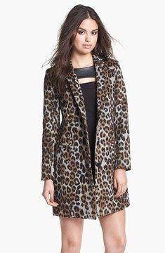 4ed7524105 BB Dakota Leopard Print Coat (Online Only) on shopstyle.com ...