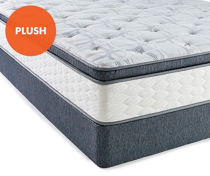 Serta Perfect Sleeper Evans Super Pillow Top Queen Mattress Box