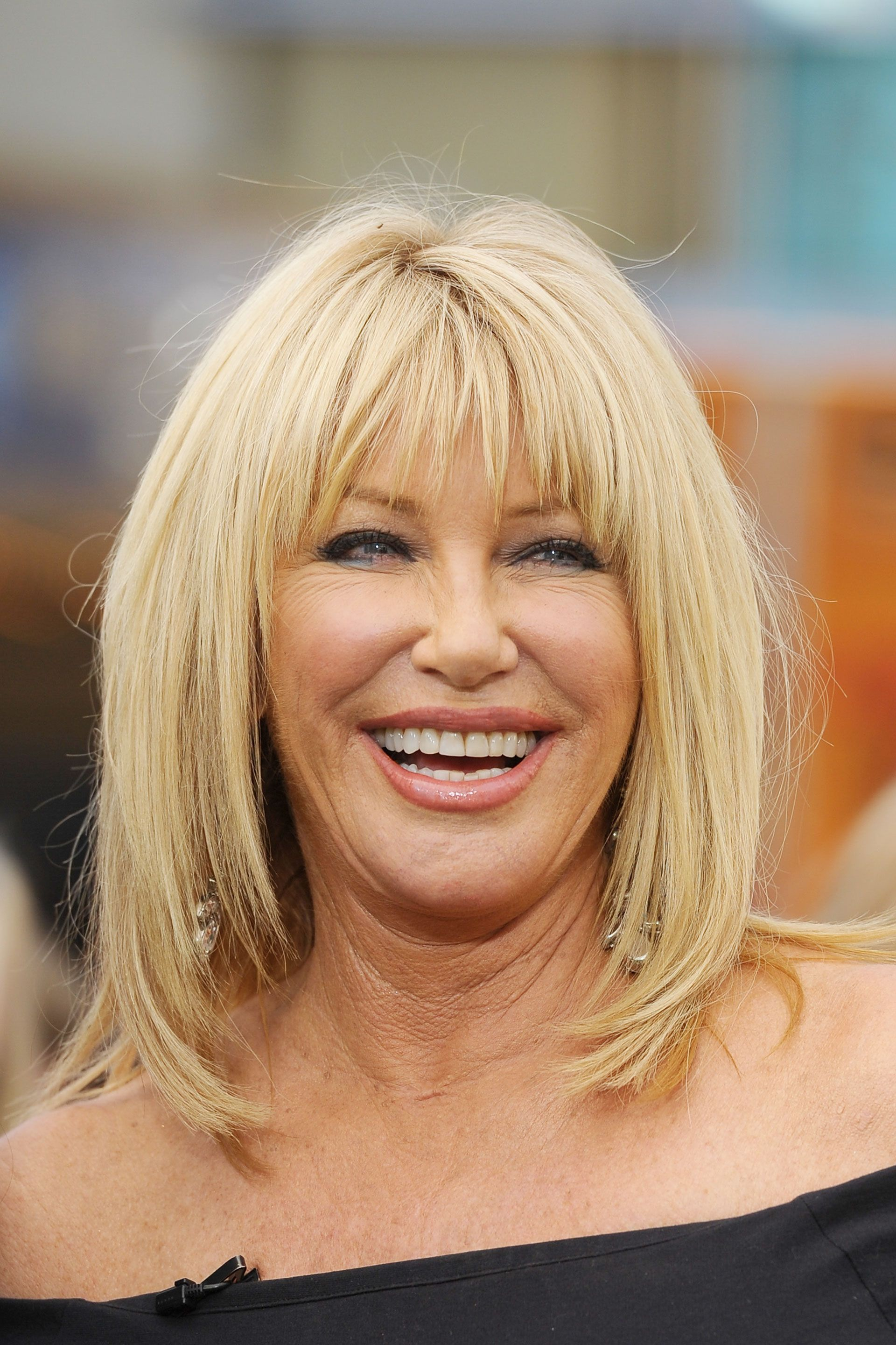 the 23 best hairstyles for women over 50 | long shag, suzanne
