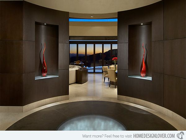15 Contemporary Foyer And Entry Way Design Ideas Foyer Design Luxury House Designs Entry Way Design