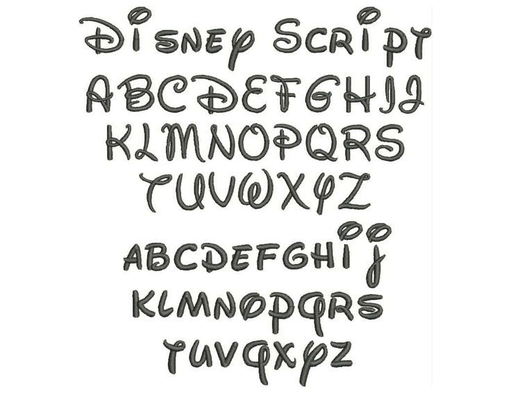 Ideas about disney font free on pinterest