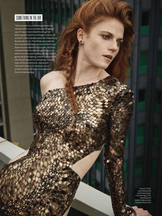 Rose Leslie InStyle UK Magazine (November 2014