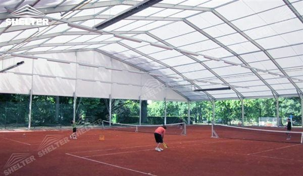 SHELTER Tennis Court Cover Sports Structures   Indoor Tennis Court    Badminton Field Canopy  3