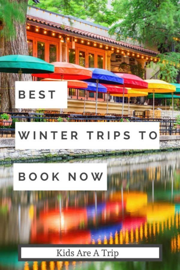 If you're ready for a winter vacation but don't know where to go, we have a bunch of ideas. From snow to sand and in between, here are 11 ideas for a winter getaway. - Kids Are A Trip #wintertravel #weekend #winter #Book #Getaways #Winter