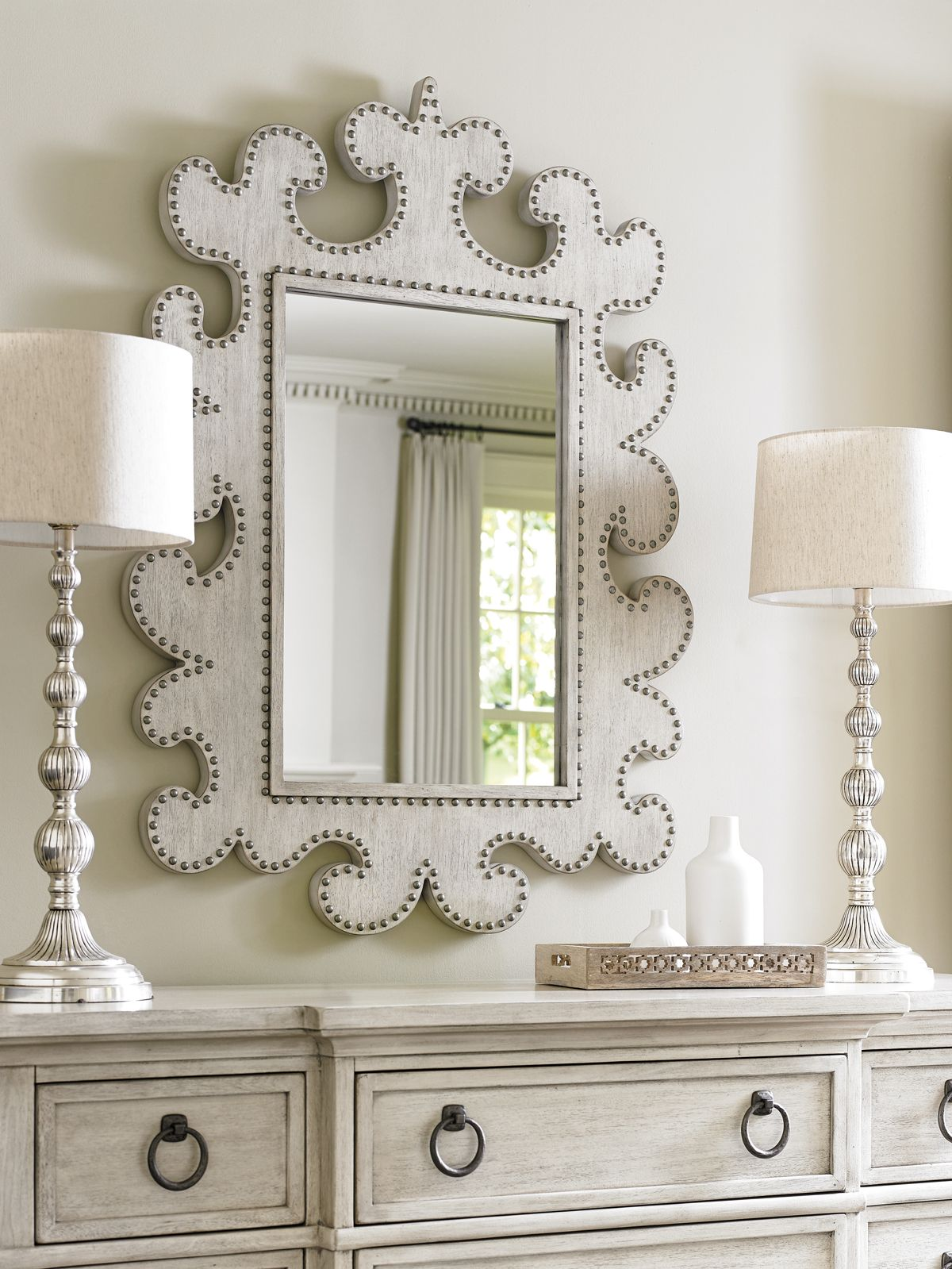 Hempstead Vertical Mirror Lexington Home Brands Delray