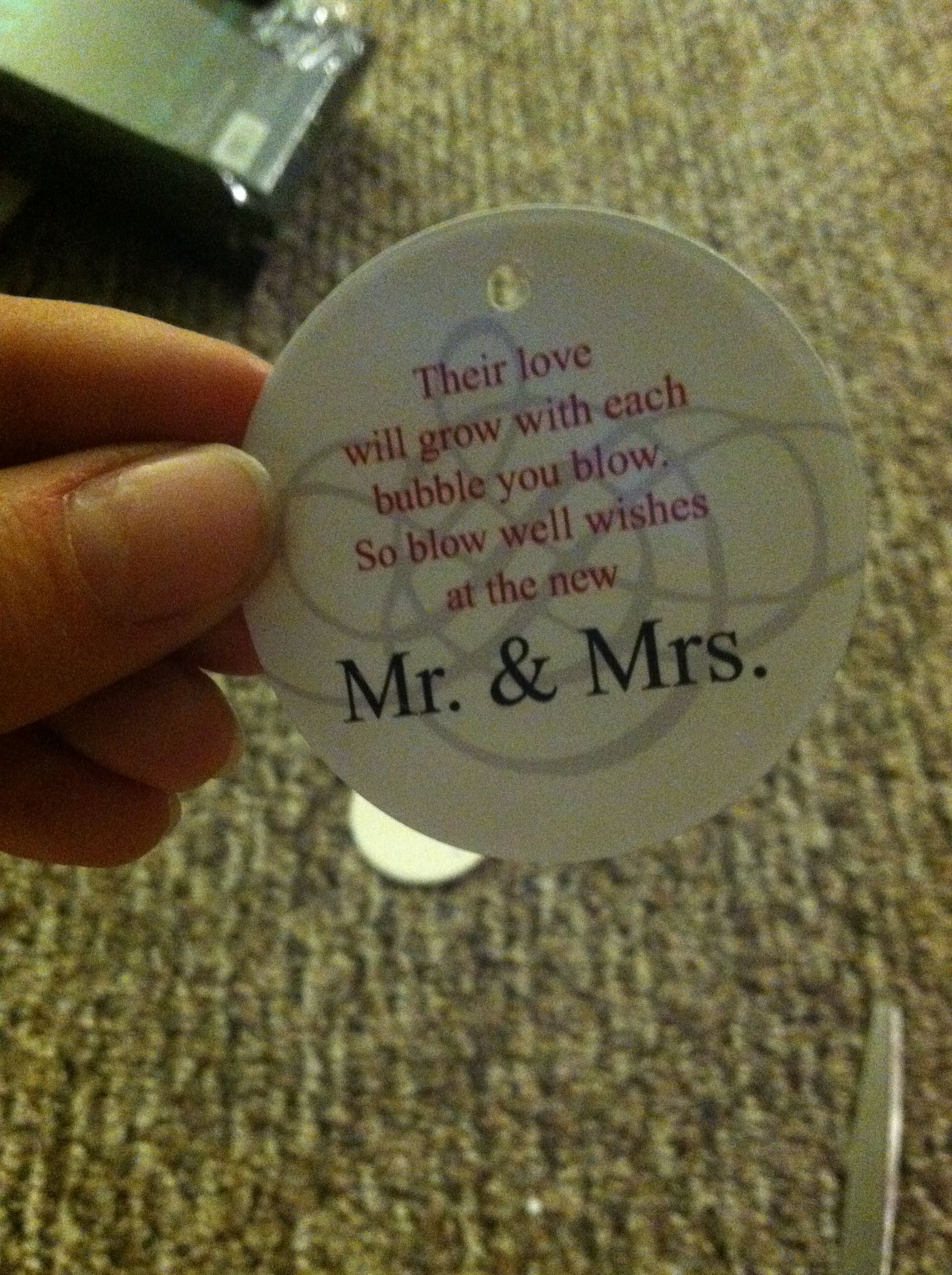 Wedding Bubbles Quotes Sayings