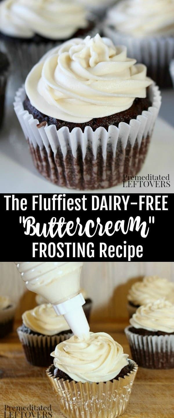 How to Make Fluffy Dairy-Free Frosting - Recipe and Tips